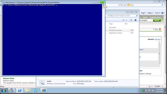 install hyper-v module19