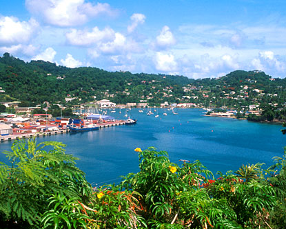 One of the wonderful lagoons of Grenada
