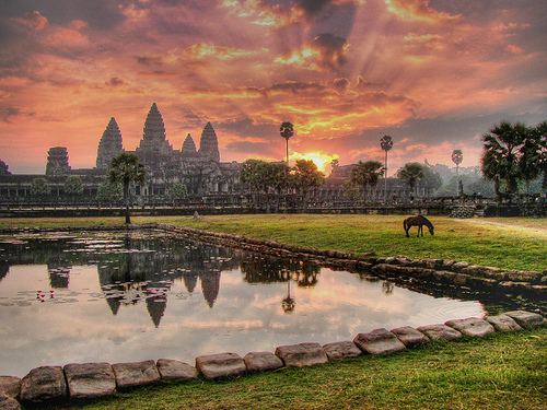Angkor Wat - the most renown symbol of Cambodia