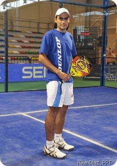 Juani Mieres ficha por ASICS 2010 Pádel