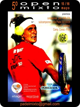 5º open mixto Internacional Majadahona 15 y 16 mayo