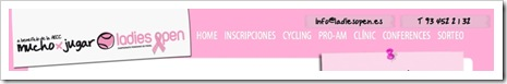 Torneo LadiesOpen Web Pádel
