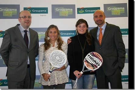 Salazar y Pavón firman con Groupama Seguros