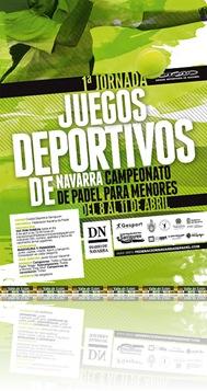1ª Jornada JJ Deportivos Navarra Menores