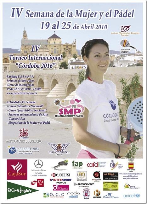 Semana de la Mujer y el Pádel, Córdoba 2010