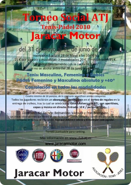Torneo Social ATJ-Jaracar Motor 2010
