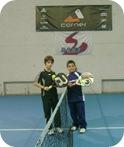 Mauro Montenegro y Alejo Zanni en La Pampa
