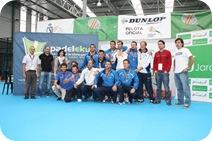 Equipo S´Aigua Blava Padel Campeones 3ª en 2010