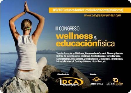 III Congreso Wellness y Educacion Física Palma Mallorca, Octubre 2010
