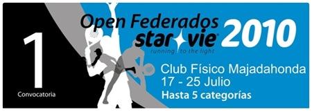 I Open Federados STAR VIE 2010 Club fisico majadahonda