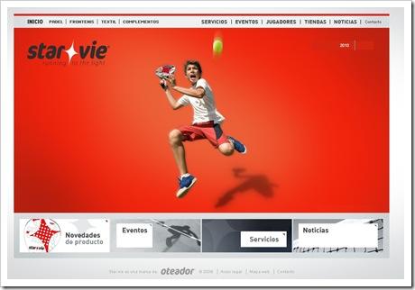 Star Vie Padel Web Inauguración 2010