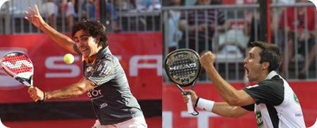 Lima y Mieres contra Bela y Martin Diaz en la Final del PPT MADRID 2010