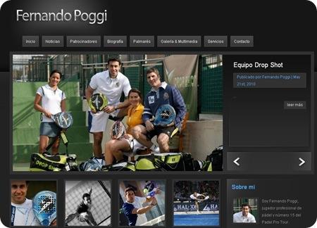 Fernando Poggi Pagina Web 2010