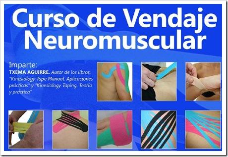 Curso Vendaje Neuromuscular en San Sebastian 2010 txema aguirre