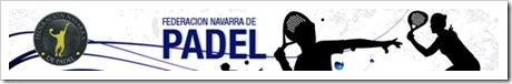 Federacion Navarra de Pádel Web