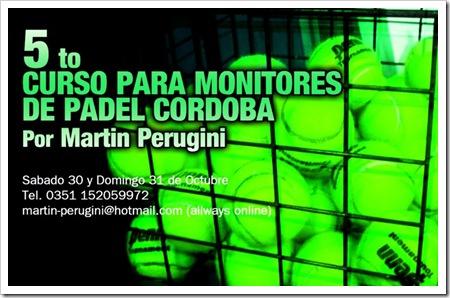 5 Curso para Monitores Padel Martin Perugini