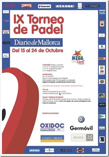 IX Torneo de Pádel Diario de Mallorca MegaSport Centre 2010