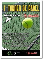 I Torneo de Pádel Drop Shot Deportes Blanes