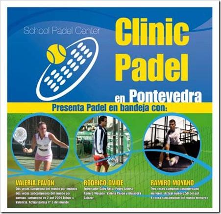 Clinic de Padel en Pontevedra Padel School Center