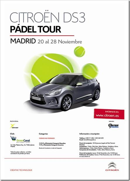 Torneo Pádel Citroen DS·Green Canal Madrid 20 noviembre_0