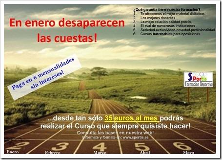 SPORTIS CURSOS FORMACION DEPORTIVA A DISTANCIA