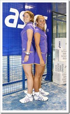 Alejandra salazar y Valeria pavón (ASICS)