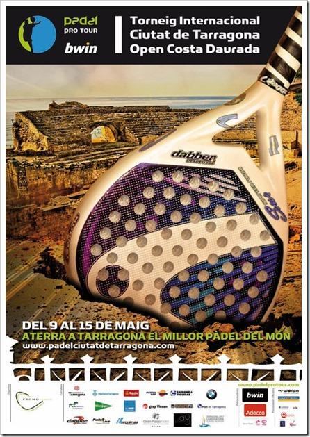 I Torneo Internacional Ciudad de Tarragona Bwin Pádel Pro Tour del 9 al 15 mayo 2011.