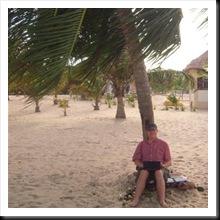 Na plaży w Belize