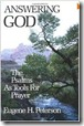 Answering God by Eugene Peterson