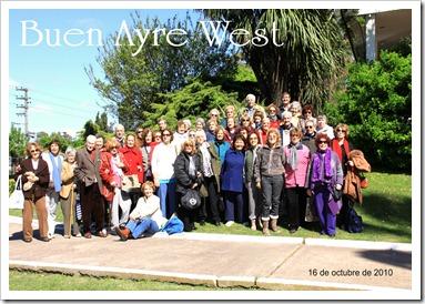 16 de octubre 2010 Centro de Jubilados Las Ardillas