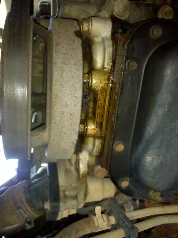 Wj 4 7 Serious Oil Leak