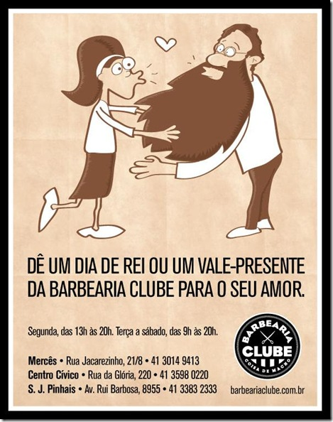 Barbearia Clube - Dia de REI
