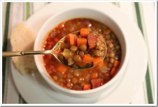 receta de sopa de lentejas-1