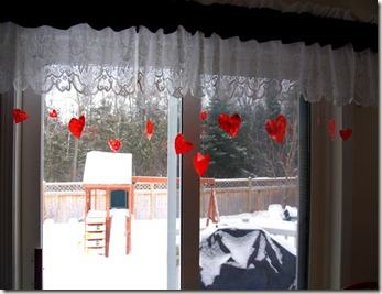 valentine crayon hearts
