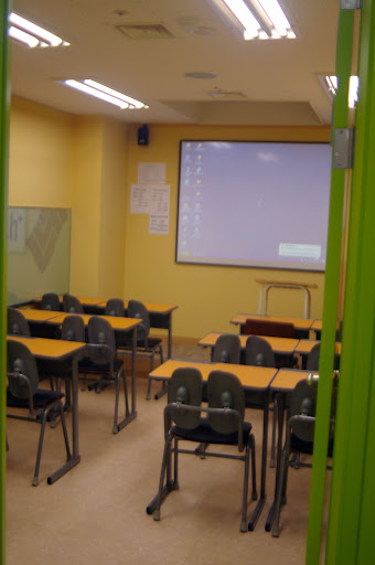 A small classroom