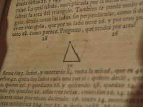 Problemas de áreas de triángulos.