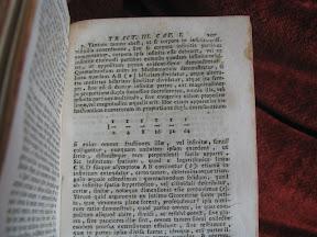 Una de las pocas «ilustraciones» del libro es esta serie geométrica de razón 2.