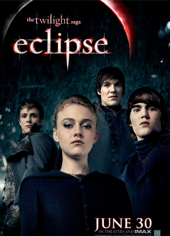 The Twilight Saga Eclipse movie poster