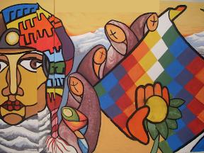 Murales políticos en El Alto | elaltonoticias.blogspot.com | 2010/03/10