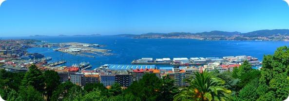 Vista panorâmica desde o Mirante do Monte Castro