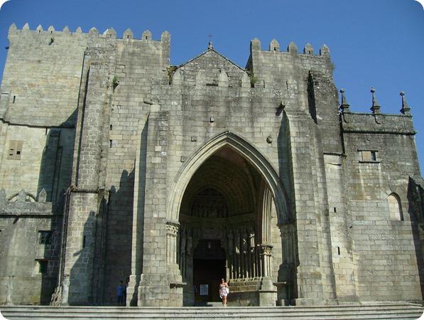 Entrada Principal da Catedral de Tui