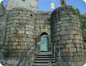 Entrada do Castelo dos Condes