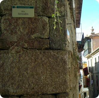 Rua Jerusalem no Bairro Judeu