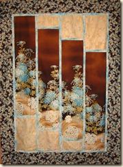 oriental panel quilt
