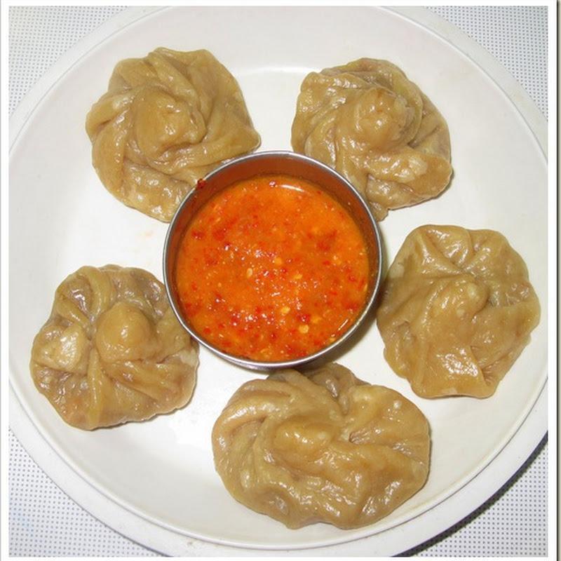 How to prepare Vegetable Momos -Nepal snack dish
