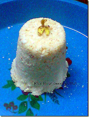 sweet puttu!!