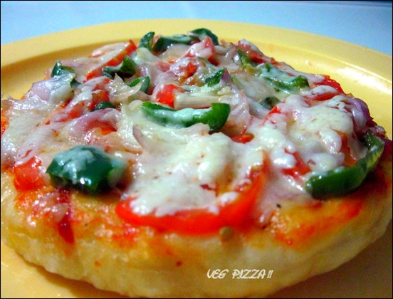 VEG PIZZA CLOSE UP