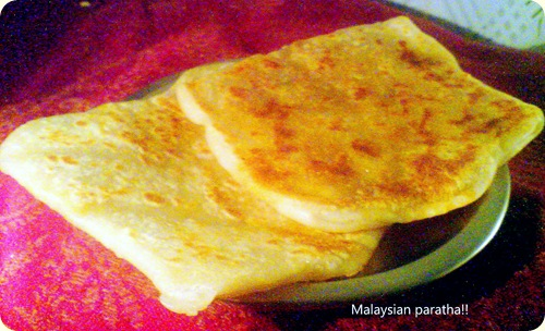 Malaysian paratha 1!!
