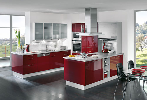 Stylish Luxury Kitchen Cabinets Design