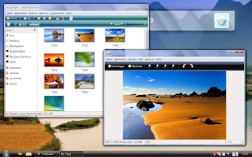 Aero-clone Gnome Desktop theme